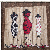 Bed Bath & Beyond Mode Fabric Shower Curtain