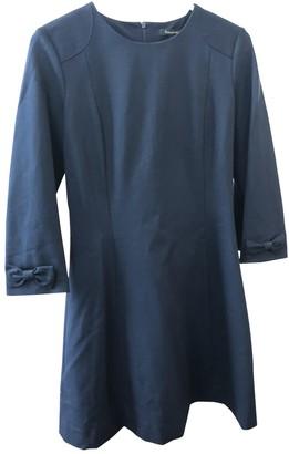 Tara Jarmon Blue Cotton Dress for Women