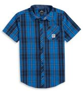 Buffalo David Bitton Boys Plaid Sportshirt