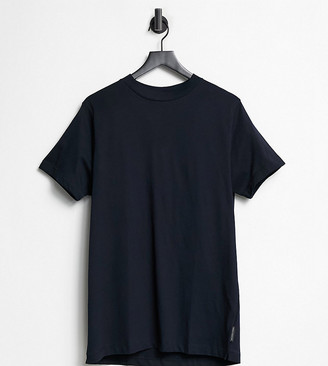French Connection Plus crew neck T-shirt in navy