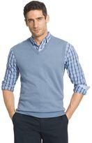 Izod Men's Classic-Fit 12GG Solid Wool-Blend Sweater Vest