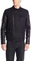 Calvin Klein Jeans Men's Urban Military Core Short Biker Jacket