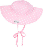Flap Happy Pink Polka Dot Floppy Sunhat