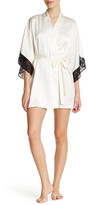 Josie Lace Trim Robe