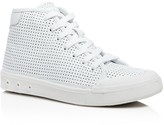 Rag & Bone Women's Standard Issue Perforated High Top Lace Up Sneakers