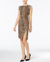 MICHAEL Michael Kors Animal-Print Studded Dress