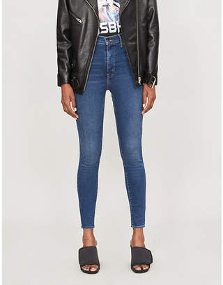 Levi's Mile High faded slim-fit skinny jeans