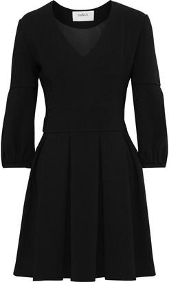 BA&SH Tynda Pleated Cady Mini Dress
