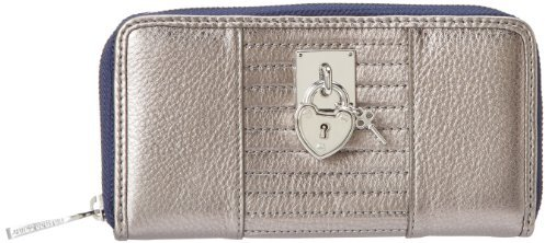 Juicy Couture Signature Leather Zip Wallet