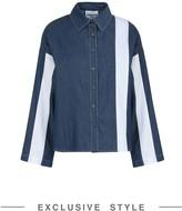 JI WON CHOI x YOOX Denim shirts