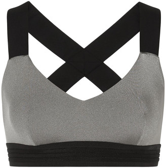 NO KA 'OI Mahina Ola Metallic Stretch Sports Bra