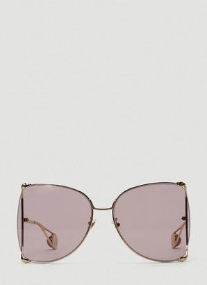 Gucci D Frames Oversized Sunglasses
