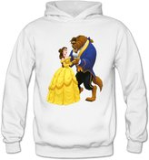 QK Inc. QK Beauty And The Beast Women's Sport Hoodies M