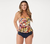 G.I.L.I. Got It Love It G.I.L.I. Swim Peplum Tankini with High-Waisted Bottoms