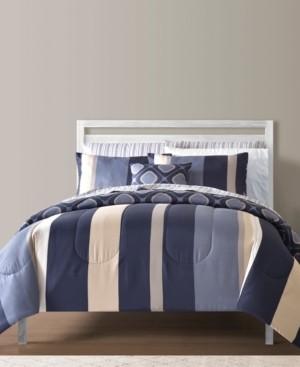 Sunham Austin Reversible 12-Pc. Full Comforter Sets Bedding