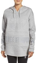 adidas Women's 3-Stripes Pullover Hoodie