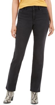 Style&Co. Style & Co Curvy-Fit Straight Leg Jeans, Created for Macy's