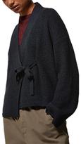 Toast Knitted Wrap Jacket, Indigo