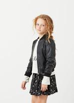 MANGO KIDS Floral Print Skirt