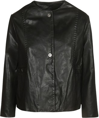 Chanel Bully Leather Jacket