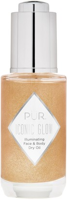 PUR Cosmetics Crystal Clear Iconic Glow Shimmer Oil