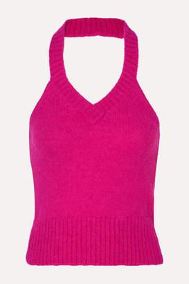 Gauge81 GAUGE81 - Bursa Knitted Halterneck Top - Fuchsia