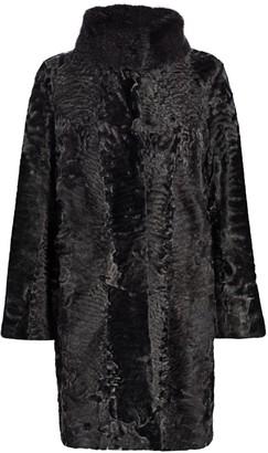The Fur Salon Bibhu Mohapatra For Persian Lamb & Mink Fur Jacket