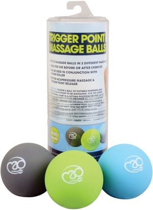 Equipment Yoga Mad Yoga-Mad Trigger Point Massage Ball Set, Multi
