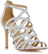 Head Over Heels MAE - Caged Laser Cut High Heel Sandal