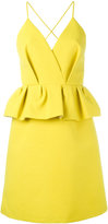 DELPOZO peplum dress - women - Cotton/Viscose - 38