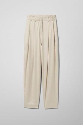 Weekday Rosella Trousers - Beige
