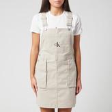 Calvin Klein Jeans Women's Utility Dungaree Dress