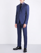 Paul Smith Checked single-breasted Kensington-fit wool suit