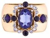 Oscar de la Renta Crystal Embellished Cuff Bracelet