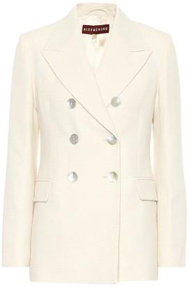 ALEXACHUNG Francoise cotton-blend blazer
