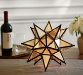 Pottery Barn Moravian Star Ambient Light