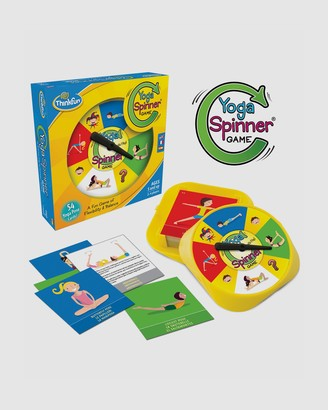 ThinkFun - Yellow Games - Yoga Spinner Game - Size One Size at The Iconic