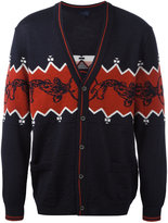 Lanvin knitted button up cardigan - men - Wool - M