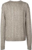 UMA WANG ribbed knit jumper