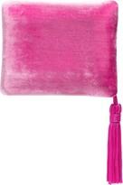 Sophie Bille Brahe tassel-trimmed velvet case