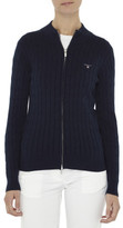 Gant Cotton Cable Zip Cardigan