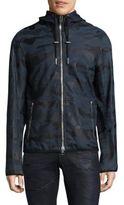 Diesel Camouflage Leather Jacket