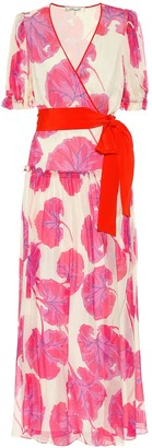 Diane von Furstenberg Breeze printed silk chiffon maxi dress