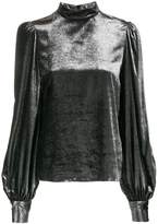Bella Freud metallic thea top