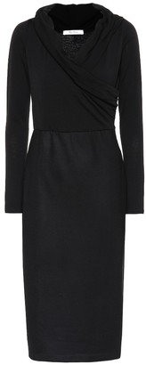 Max Mara Zavorra stretch-wool dress
