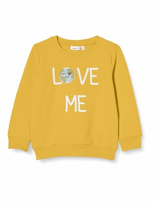Name It Girls' NMFLAPLANET Sweat UNB Longsleeve T-Shirt
