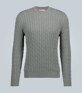 Brunello Cucinelli Cable knit cotton sweater