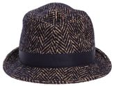 "Tagliatore Chris"" Cotton And Wool Blend Hat"""