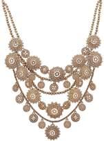 Marchesa Multi Row Collar Necklace, 13