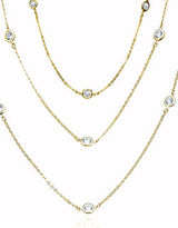 Crislu 18KT Goldplated Sterling Silver Layered Necklace